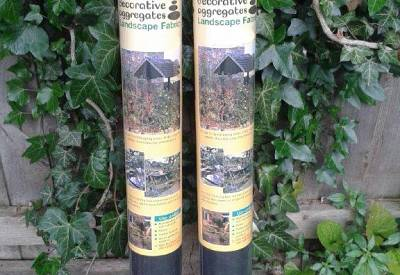 2 Pack Landscape Weed Prevention Membrane