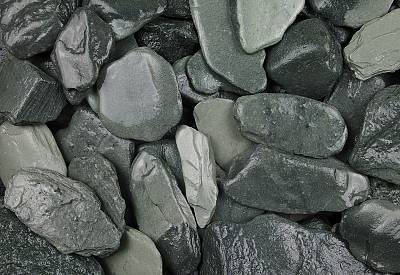 Cumbrian Green Slate Chippings 40mm