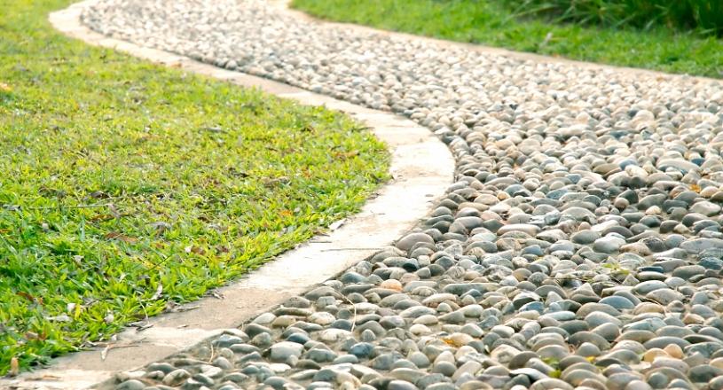 Create Beautiful Natural Pathways Decorative Aggregates