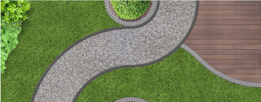 Guide How To Lay A Simple Gravel Path Decorative Aggregates