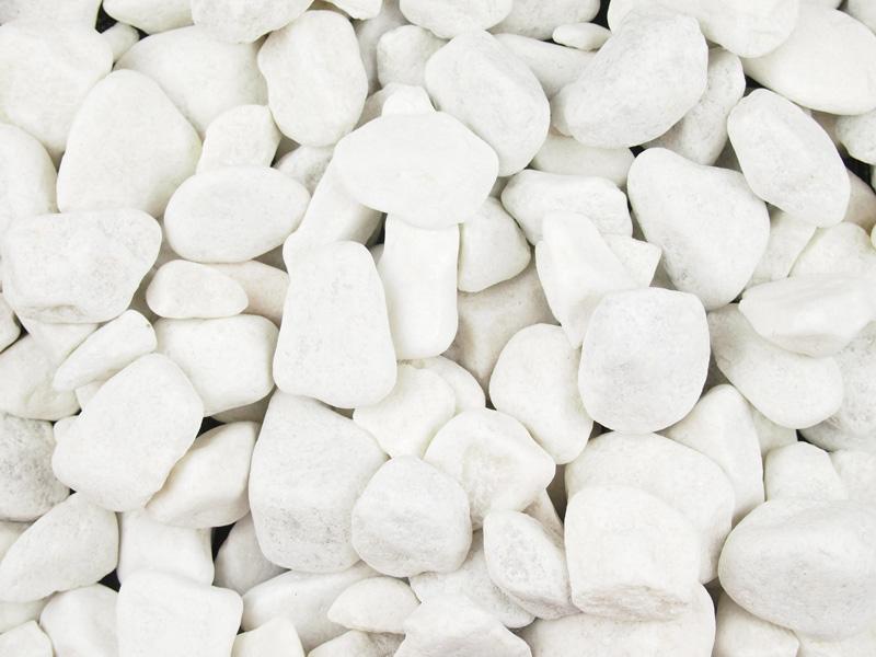 spanish white cobbles bulk bag