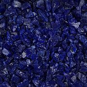 Blue Glass Chippings 10-14mm