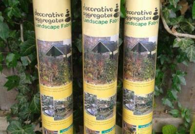 3 Pack Landscape Weed Prevention Membrane