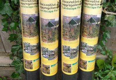 4  Pack Landscape Weed Prevention Membrane
