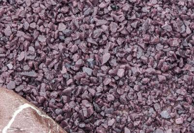 Lilac Glass Chippings 10-14mm