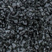 Black Glass Chippings 10-14mm