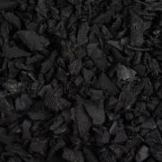Black Rubber Playground Chippings