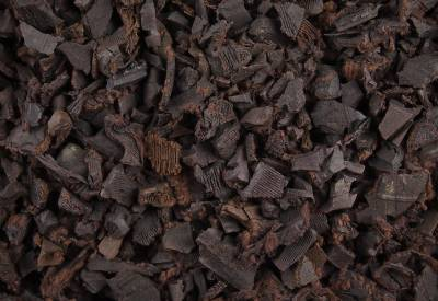 Brown Rubber Landscaping Chippings