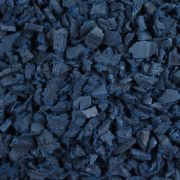 Blue Rubber Landscape Chippings