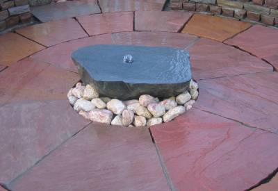 Sawn Boulder Water Feature Kit