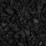 Black Rubber Landscaping Chippings